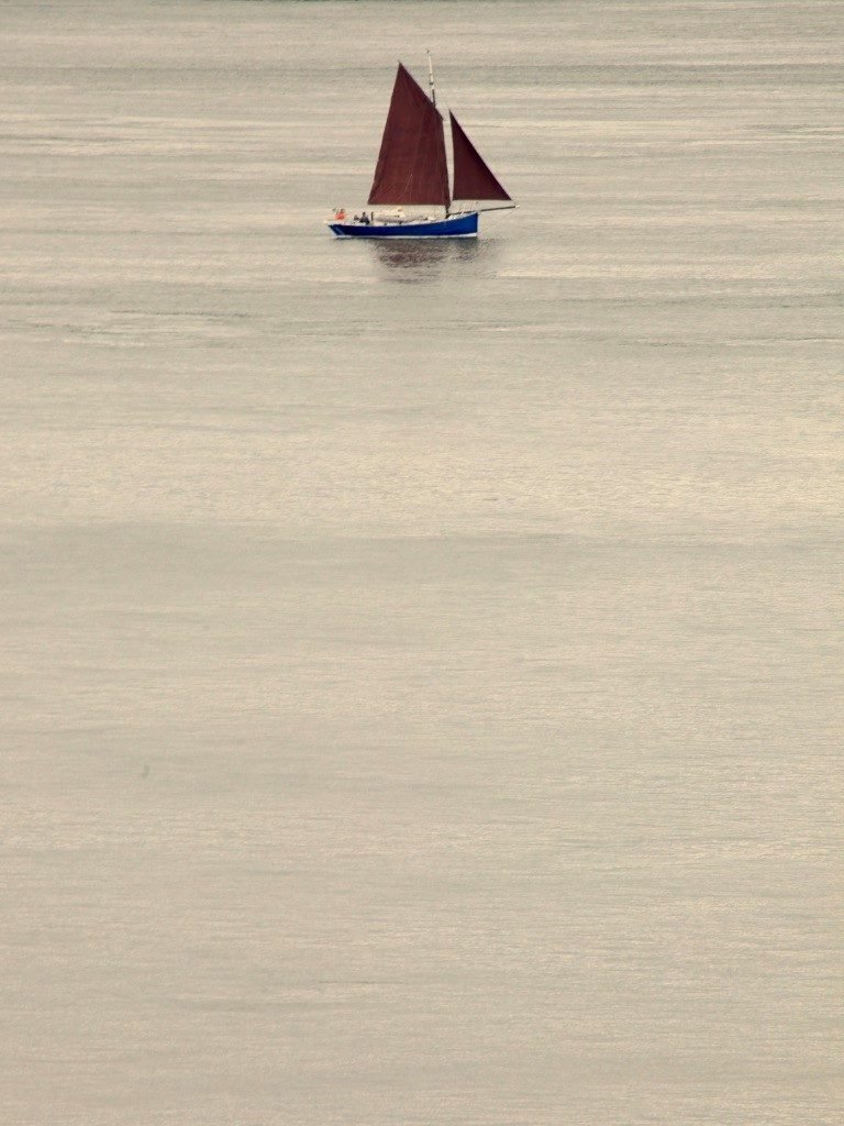 Photo of sailboat by Sam.